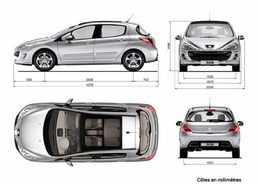 renault m gane iii peugeot 308 chacun sa route photo 10 l 39 argus. Black Bedroom Furniture Sets. Home Design Ideas
