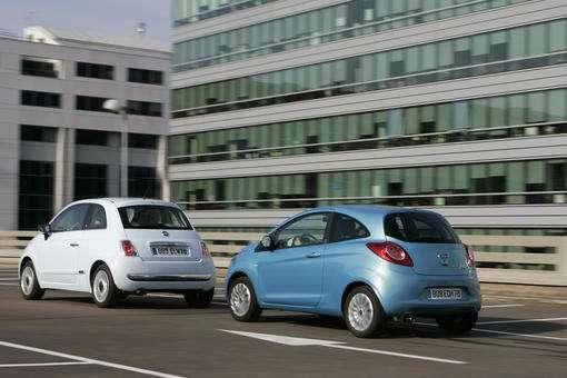 Ford Ka Fiat  Le Doute Est Permis