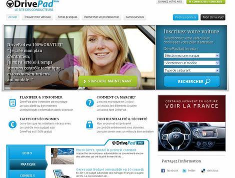 photo drivepad met en relation des automobilistes et des professionnels l 39 argus pro. Black Bedroom Furniture Sets. Home Design Ideas