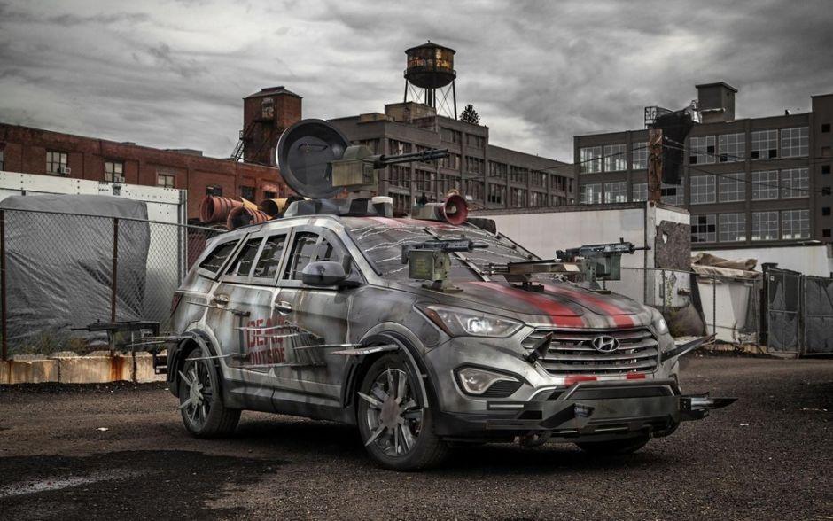 les voitures les plus effrayantes pour halloween - Zombie Voiture
