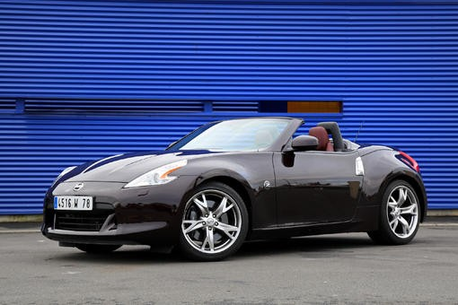 nissan 370z roadster tour de chauffe l 39 argus. Black Bedroom Furniture Sets. Home Design Ideas