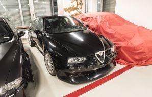Alfa Romeo 156 GTAm prototype réserves du musée Alfa Romeo à Milan