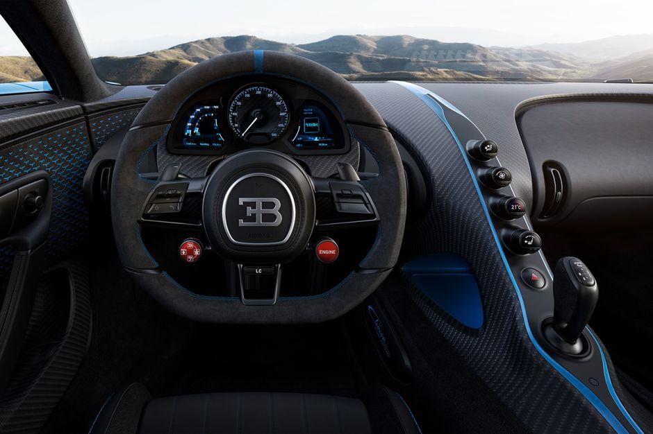 Bugatti Chiron Pur Sport : moins puissante mais plus agile - Photo #10 - L'argus