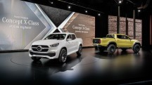 Mercedes X-CLASS pick-up double cabine 2017