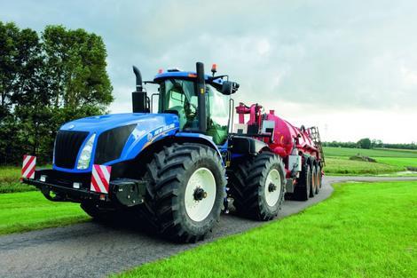 deux ch ssis au choix pour les tracteurs new holland de s rie t9 l 39 argus. Black Bedroom Furniture Sets. Home Design Ideas