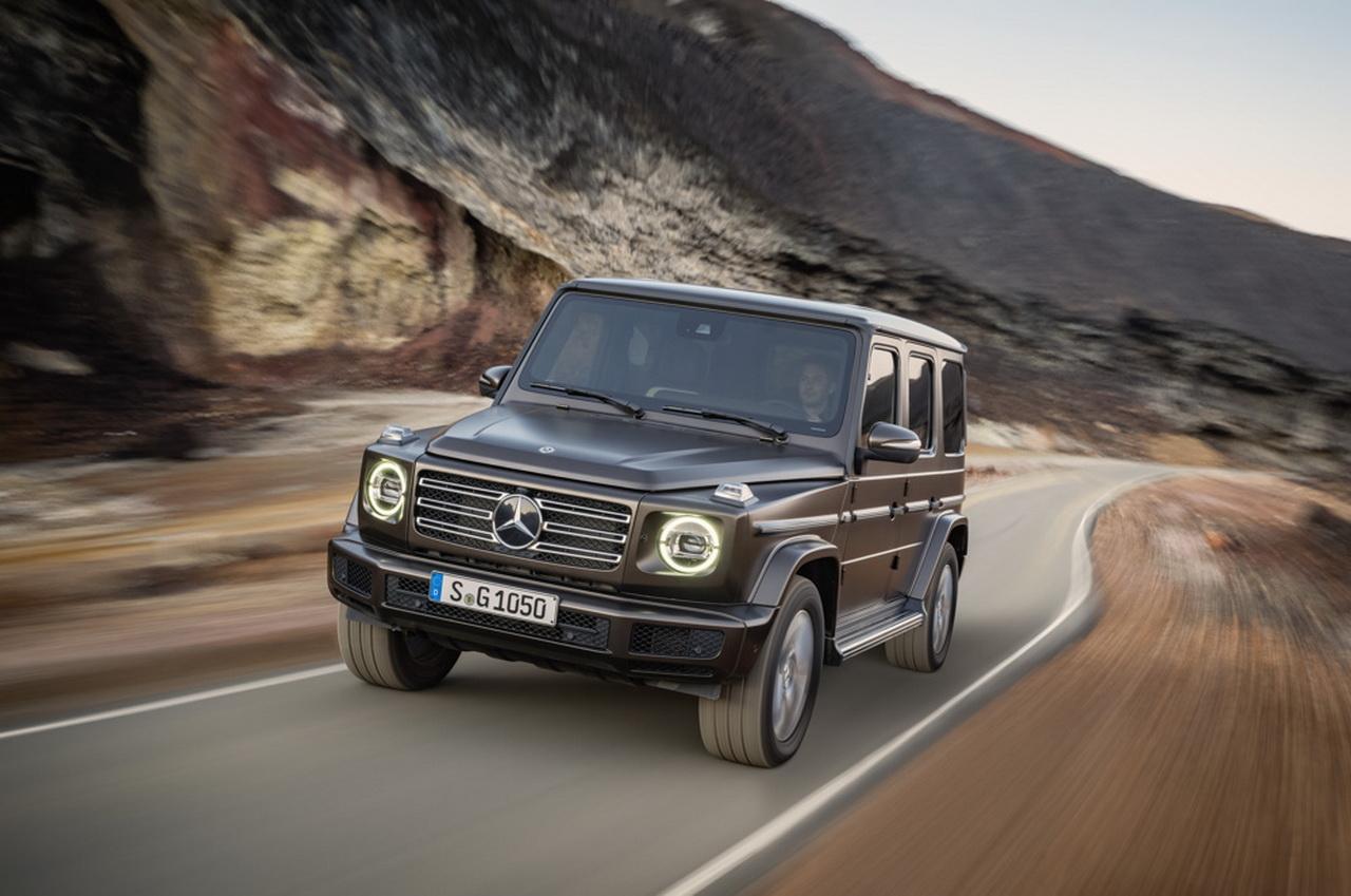 Mercedes Classe G (2018). Toutes les photos et infos officielles
