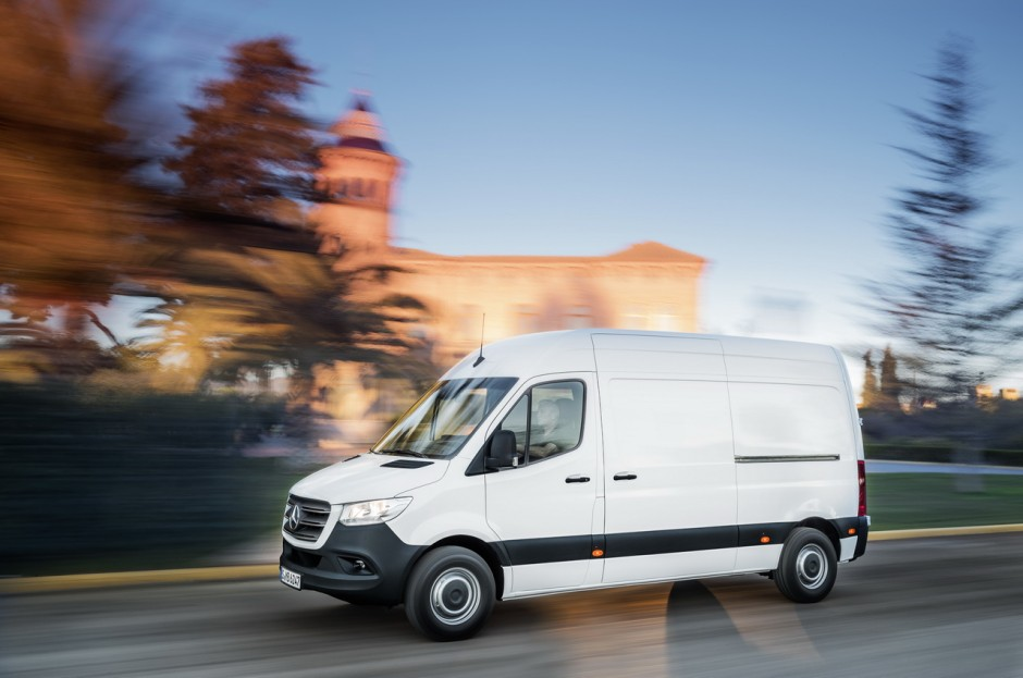 Noul Sprinter 2018 >> Nouveau Mercedes Sprinter (2018) : les infos et photos officielles - Photo #11 - L'argus