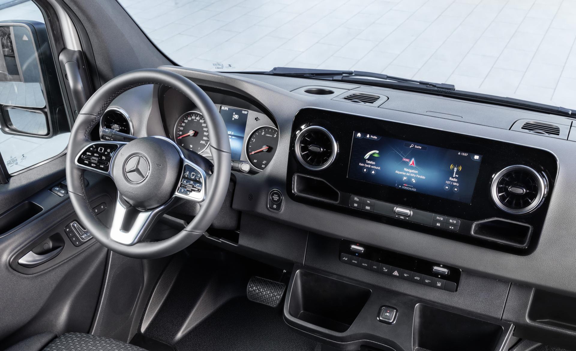 Nouveau Mercedes Sprinter 2018 Les Infos Et Photos Officielles  # Recherche Nilo A Vendre