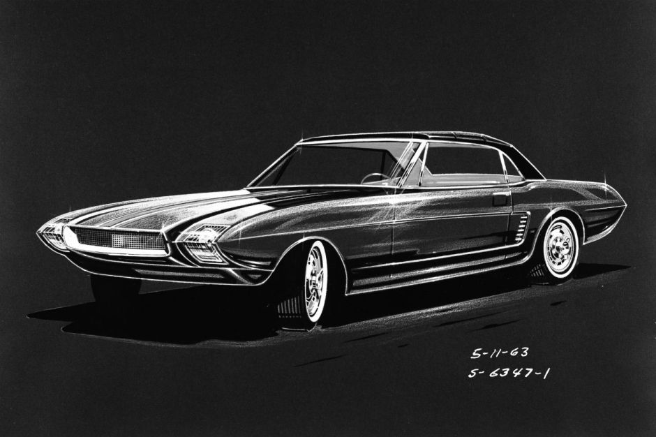 Ford Mustang : les concepts oubliés - 1963 Mustang 2 ...