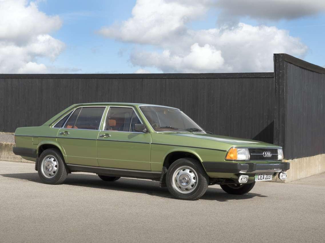 Top 50 des voitures les plus moches d'hier et d'aujourd'hui - 1977 - Audi 100 C2 - L'argus