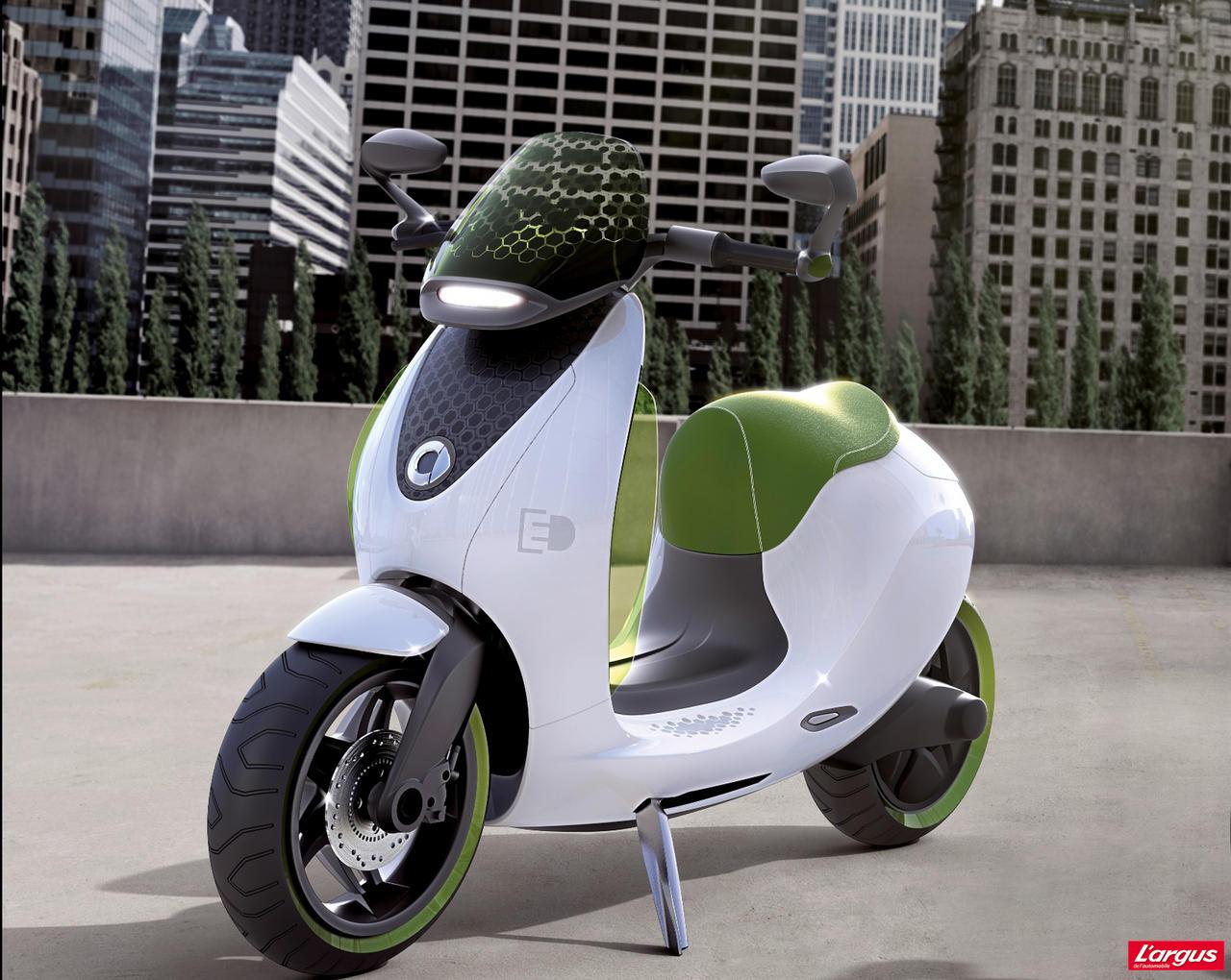 le scooter lectrique smart pour 2014 photo 2 l 39 argus. Black Bedroom Furniture Sets. Home Design Ideas
