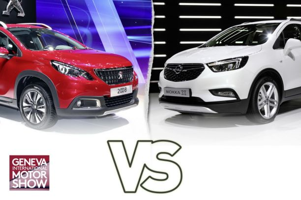 peugeot 2008 vs opel mokka x le match des suv restyl s l 39 argus. Black Bedroom Furniture Sets. Home Design Ideas