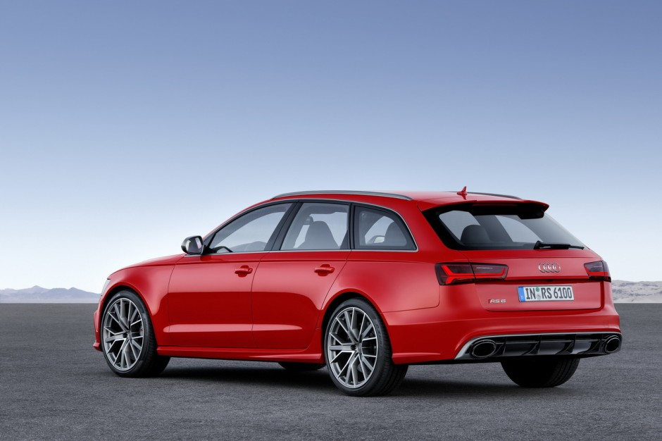 audi rs6 avant performance 2016 605 ch dans le break audi a6 photo 4 l 39 argus. Black Bedroom Furniture Sets. Home Design Ideas