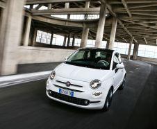 Nouvelle Fiat 500 blanche 2015