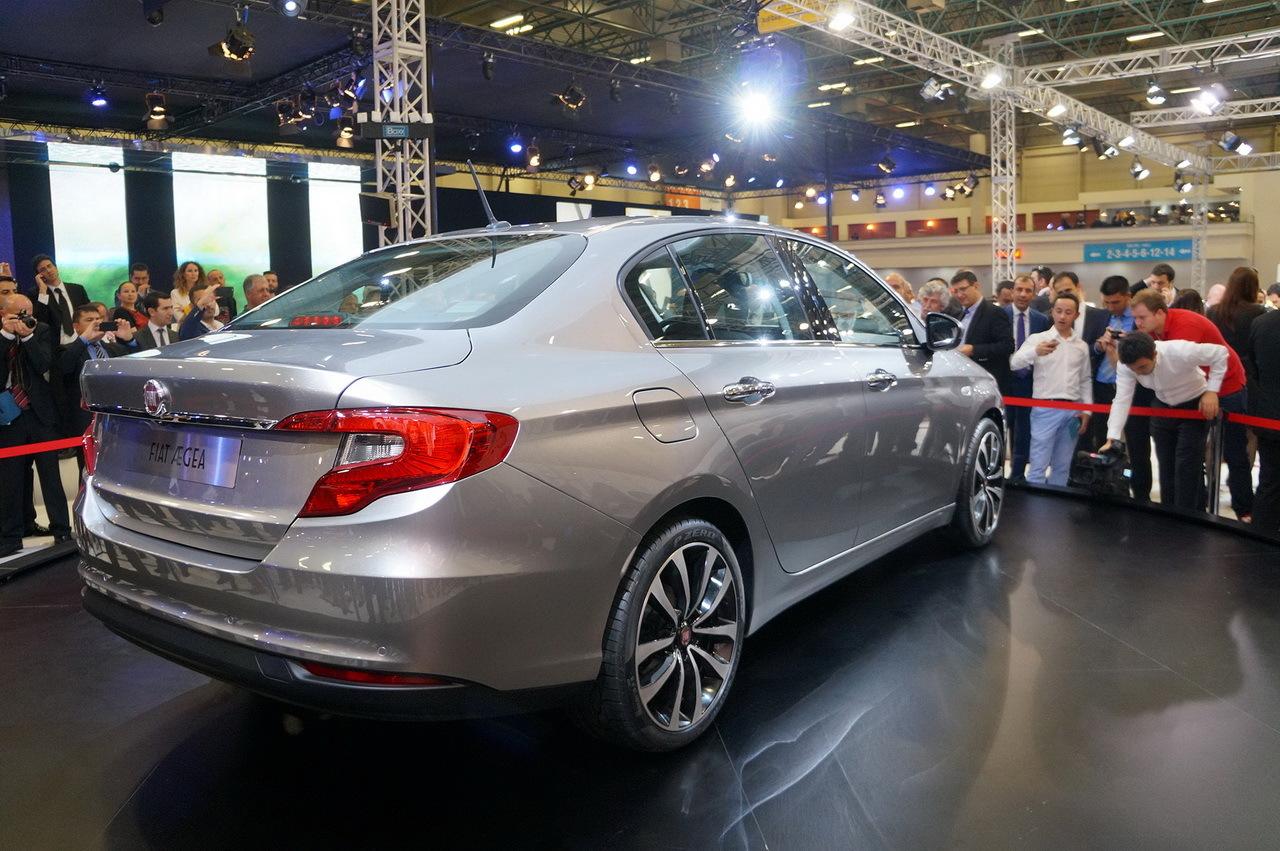 Fiat AEgea : la nouvelle berline 4 portes de Fiat dévoilée ...