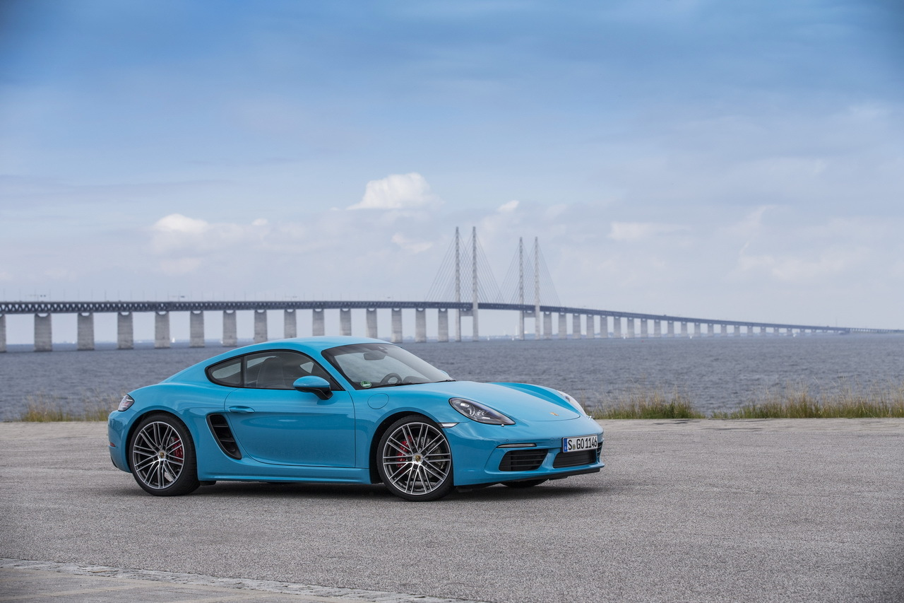 essai porsche 718 cayman s au volant du nouveau cayman 4 cylindres photo 14 l 39 argus. Black Bedroom Furniture Sets. Home Design Ideas