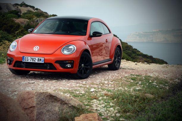 hübsch und bunt 100% hohe Qualität niedrigerer Preis mit Essai Volkswagen Coccinelle 2016 : au volant de la ...