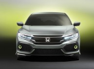 Honda Civic Hatchback Concept : un aperçu de la future Civic 2017