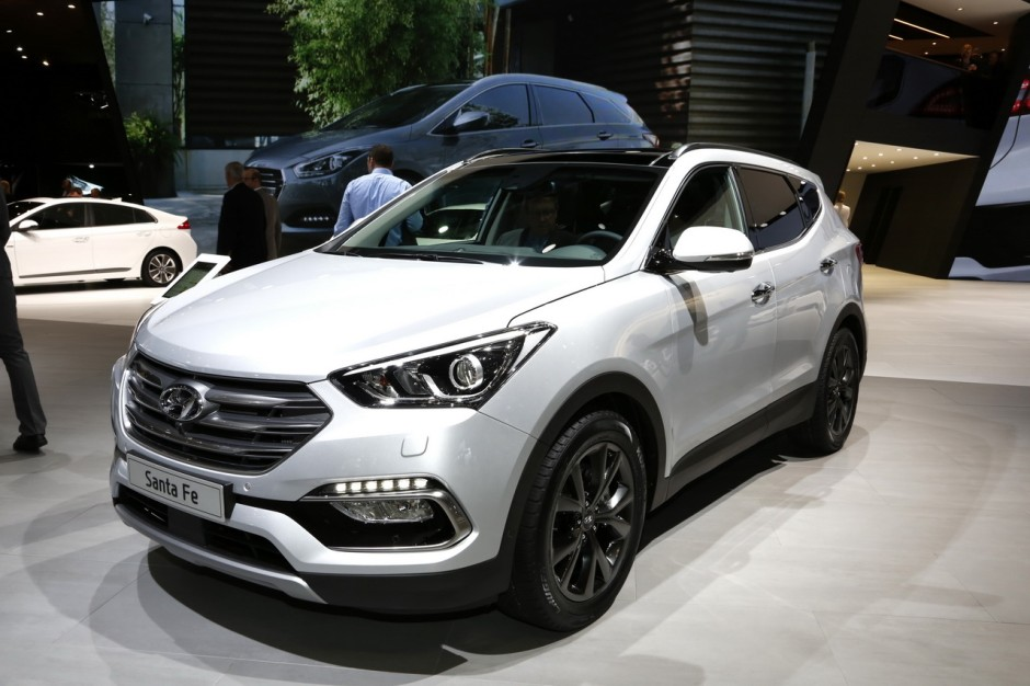 hyundai santa fe  il viendra en europe sauf en france photo  largus