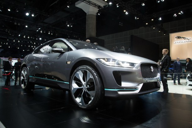 jaguar i pace concept le premier suv lectrique de jaguar est pr t l 39 argus. Black Bedroom Furniture Sets. Home Design Ideas
