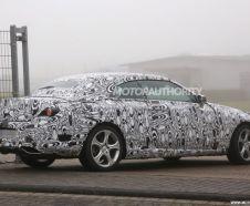 vue arri�re future Mercedes Classe C cabriolet spyshot