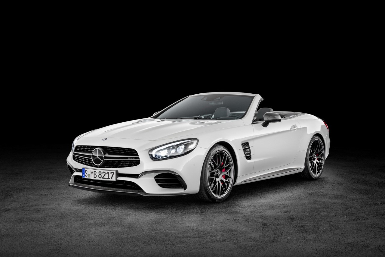 mercedes sl 2016 vid o au salon de los angeles 2015 l 39 argus. Black Bedroom Furniture Sets. Home Design Ideas