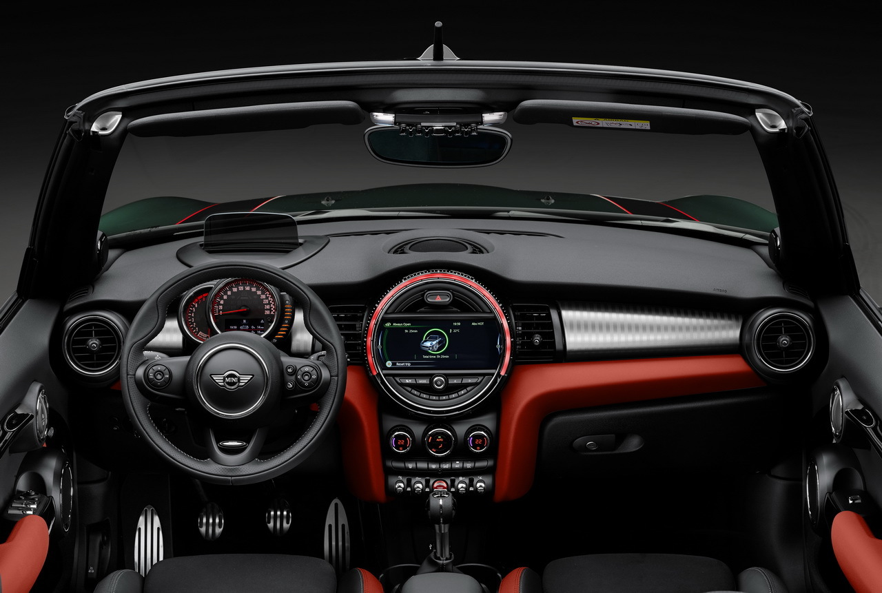 Mini John Cooper Works Cabrio 2016 231 Ch Dans La Mini