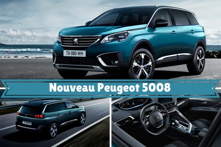 peugeot 5008 2016 le nouveau 5008 en images photo 1 l 39 argus. Black Bedroom Furniture Sets. Home Design Ideas