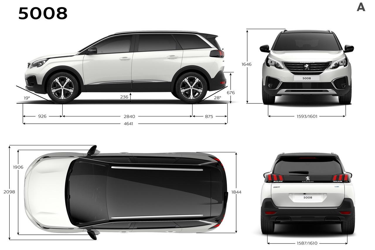 Peugeot 5008 2 Dimensions Prix Moteurs Tout Sur Le