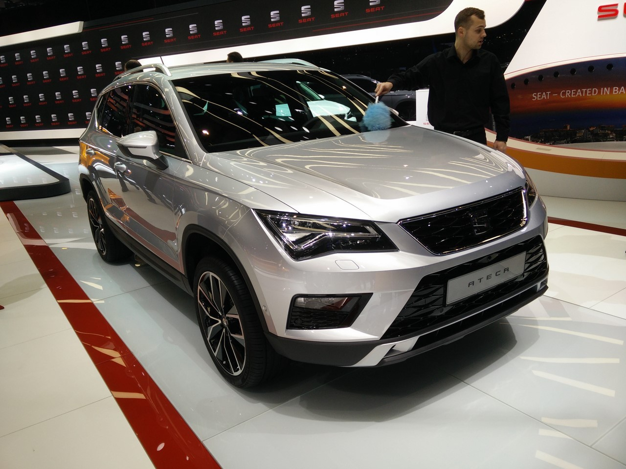 Seat ateca le suv seat entre dans la danse au salon de for Salon de la photo 2016