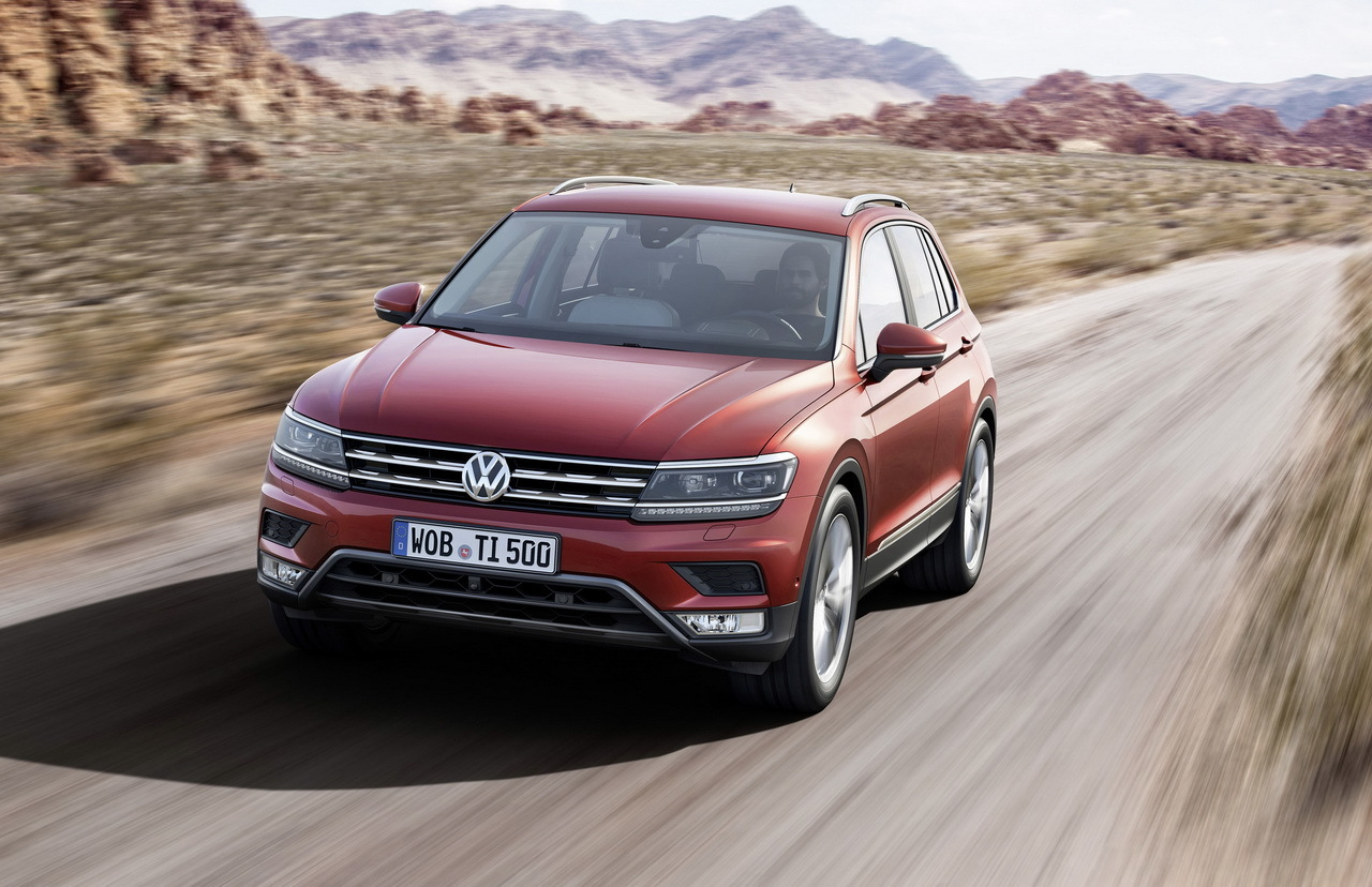 volkswagen tiguan 2016 les photos exclusives du nouveau. Black Bedroom Furniture Sets. Home Design Ideas