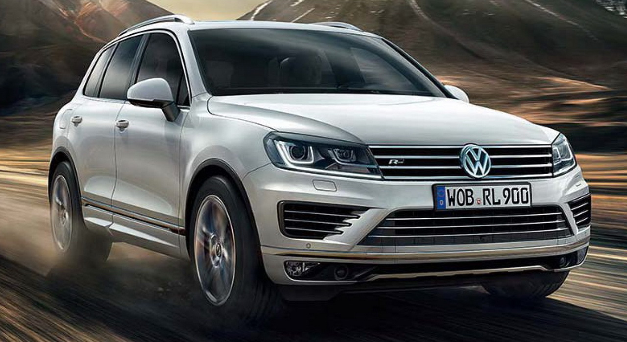 volkswagen touareg r line 2016 le grand suv volkswagen en mode sport photo 1 l 39 argus. Black Bedroom Furniture Sets. Home Design Ideas