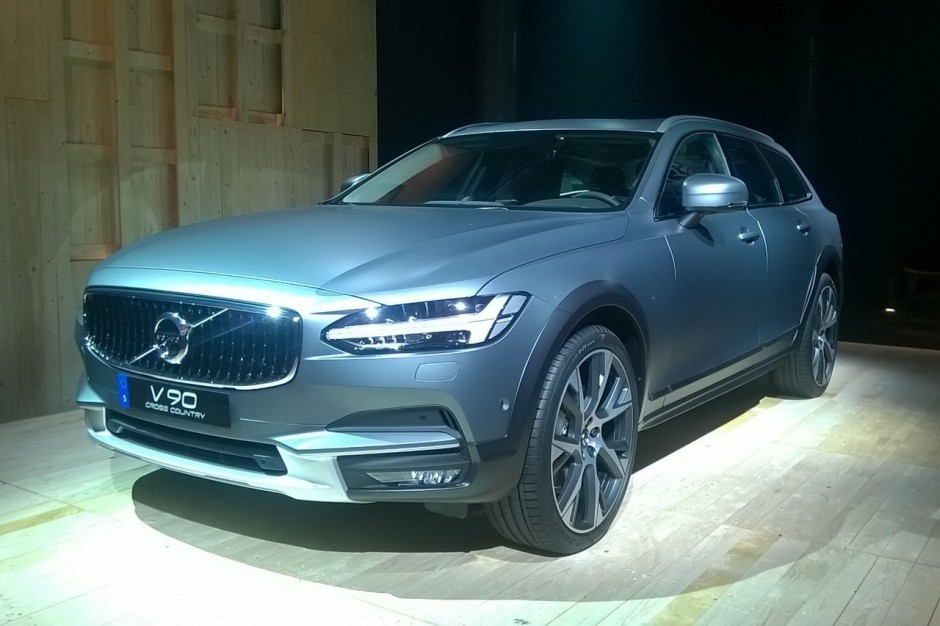 volvo v90 cross country 2017 premi res photos officielles photo 2 l 39 argus. Black Bedroom Furniture Sets. Home Design Ideas