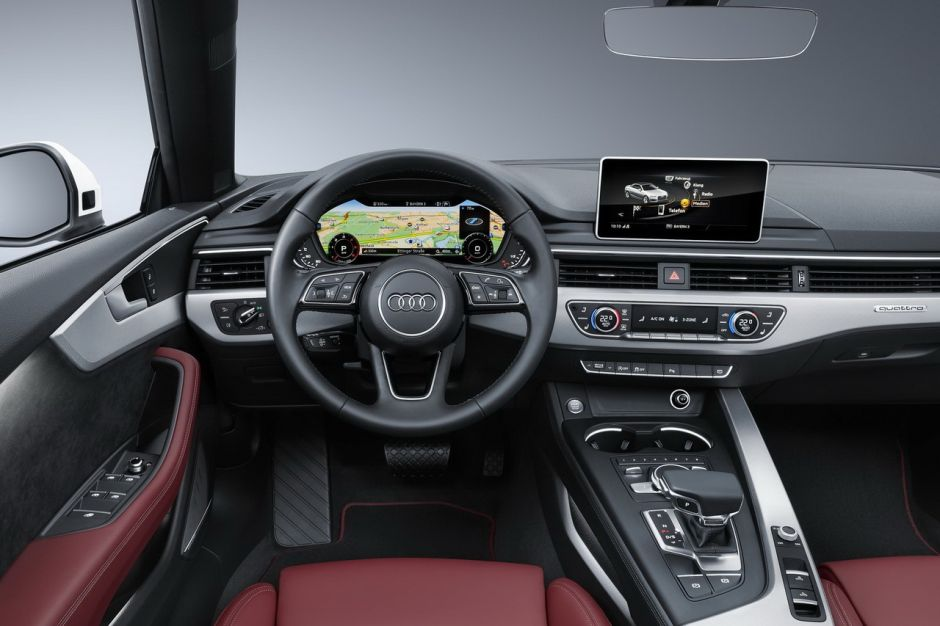 audi a5 cabriolet 2017 intrieur