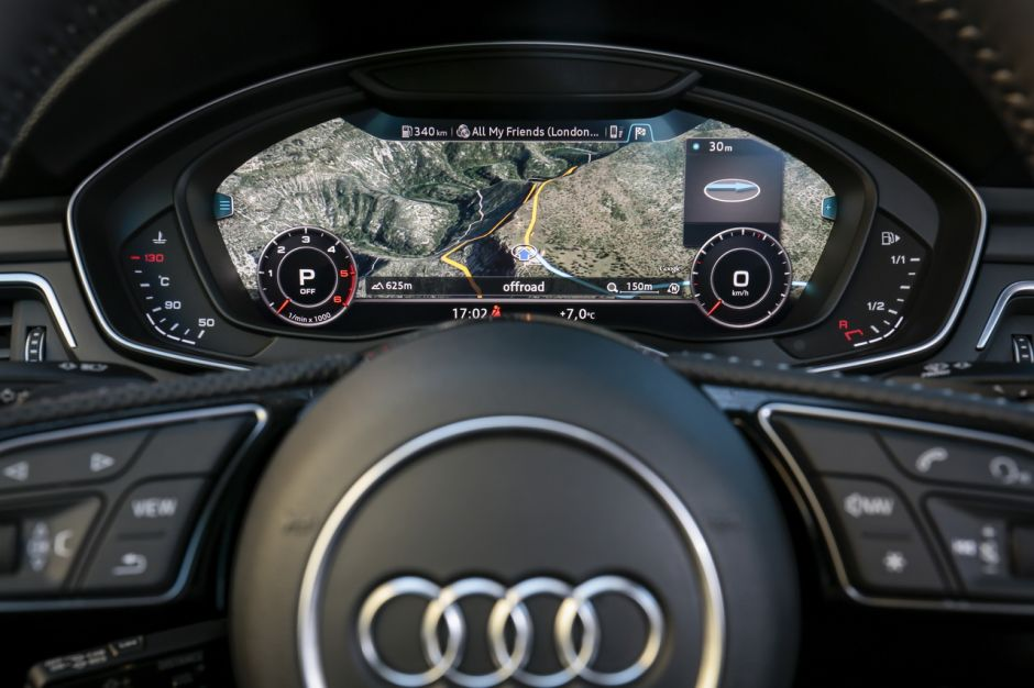 essai audi a5 sportback 2017 notre avis sur le diesel 2 0 tdi 190 photo 38 l 39 argus. Black Bedroom Furniture Sets. Home Design Ideas
