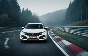Honda Civic Type R 10 sur le Nurburgring