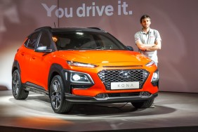 Julien Sarboraria hyundai kona orange