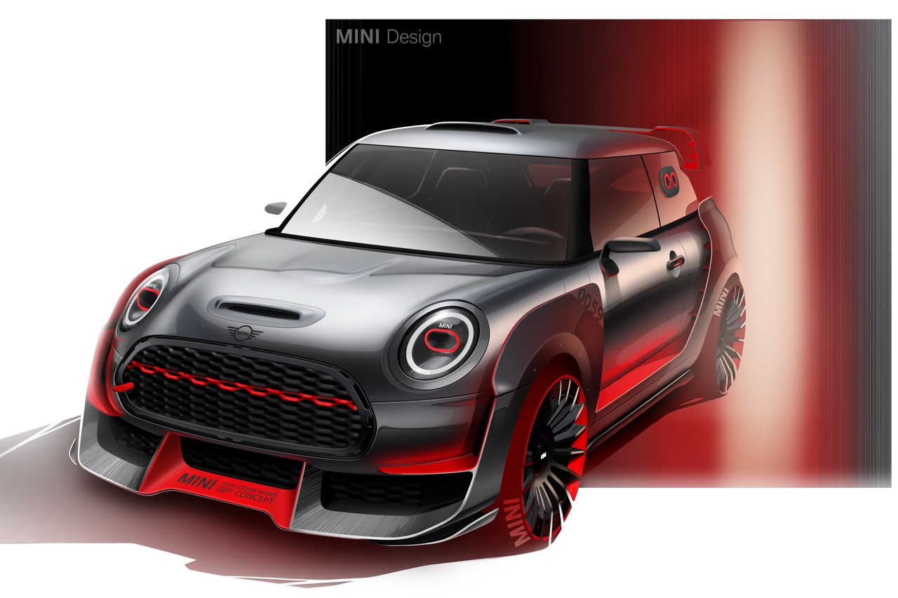 mini john cooper works gp concept clin d 39 oeil au pass de la marque photo 19 l 39 argus. Black Bedroom Furniture Sets. Home Design Ideas
