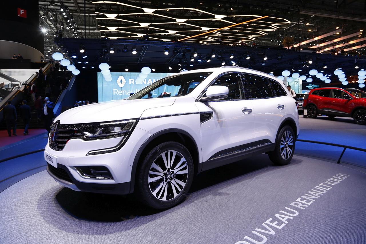 Renault koleos diesel 2017