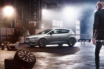 seat leon cupra 2017 300 ch et quatre roues motrices sur le break st seat auto evasion. Black Bedroom Furniture Sets. Home Design Ideas