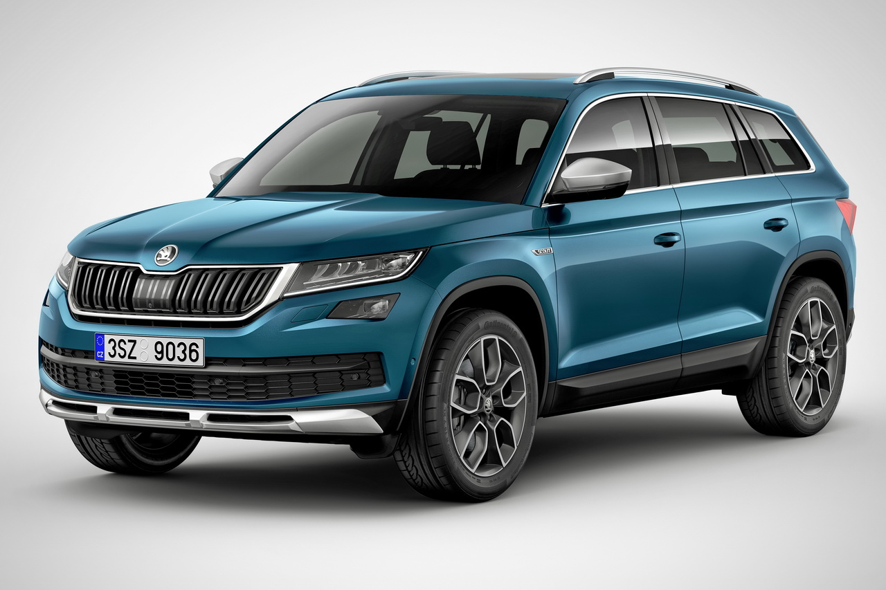 skoda kodiaq scout et sportline deux nouvelles versions du suv skoda photo 2 l 39 argus. Black Bedroom Furniture Sets. Home Design Ideas