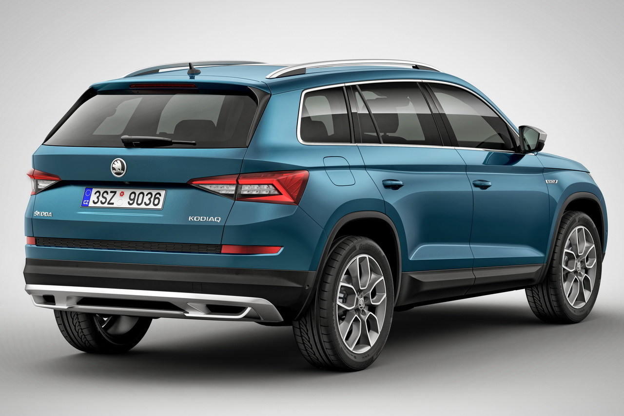 skoda kodiaq scout et sportline deux nouvelles versions. Black Bedroom Furniture Sets. Home Design Ideas