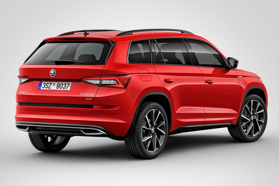 skoda kodiaq scout et sportline deux nouvelles versions du suv skoda photo 5 l 39 argus. Black Bedroom Furniture Sets. Home Design Ideas