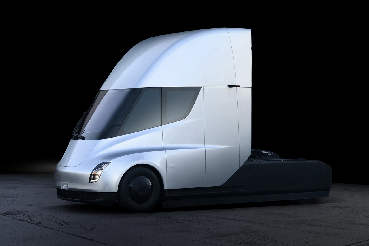tesla semi infos et photos du camion lectrique de tesla photo 8 l 39 argus. Black Bedroom Furniture Sets. Home Design Ideas