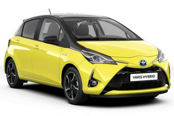 toyota yaris hybride collection jaune 2017 250 exemplaires l 39 argus. Black Bedroom Furniture Sets. Home Design Ideas
