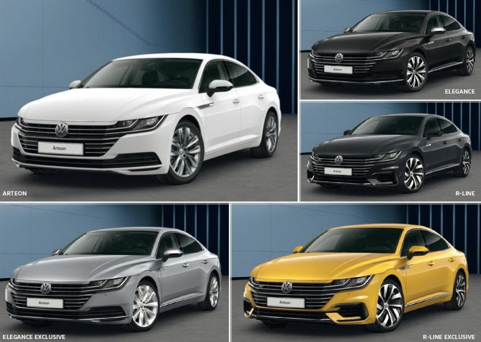 volkswagen arteon 2017 prix moteurs et date de sortie d voil s photo 11 l 39 argus. Black Bedroom Furniture Sets. Home Design Ideas
