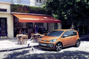 volkswagen cross up orange 2016
