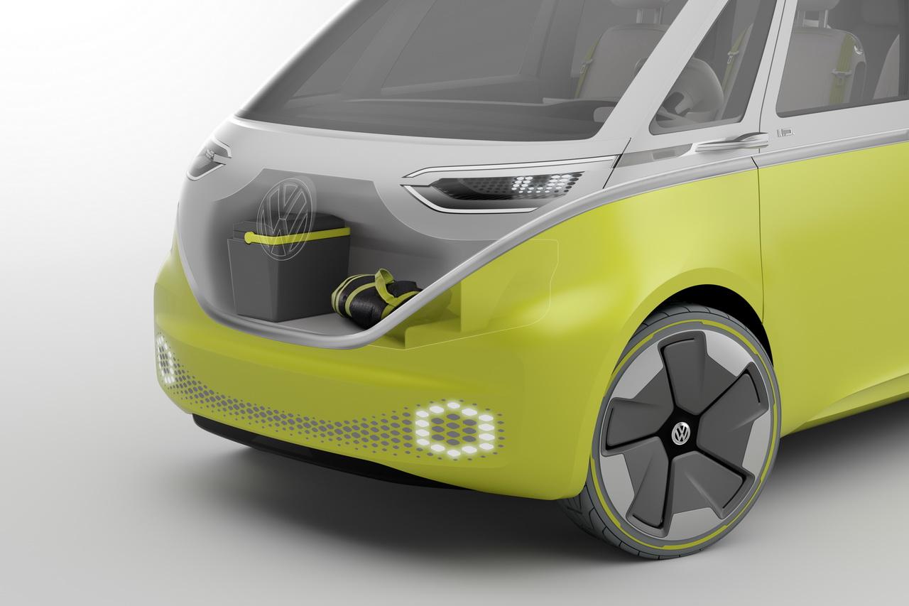 volkswagen id buzz concept le combi en mode lectrique et autonome photo 18 l 39 argus. Black Bedroom Furniture Sets. Home Design Ideas