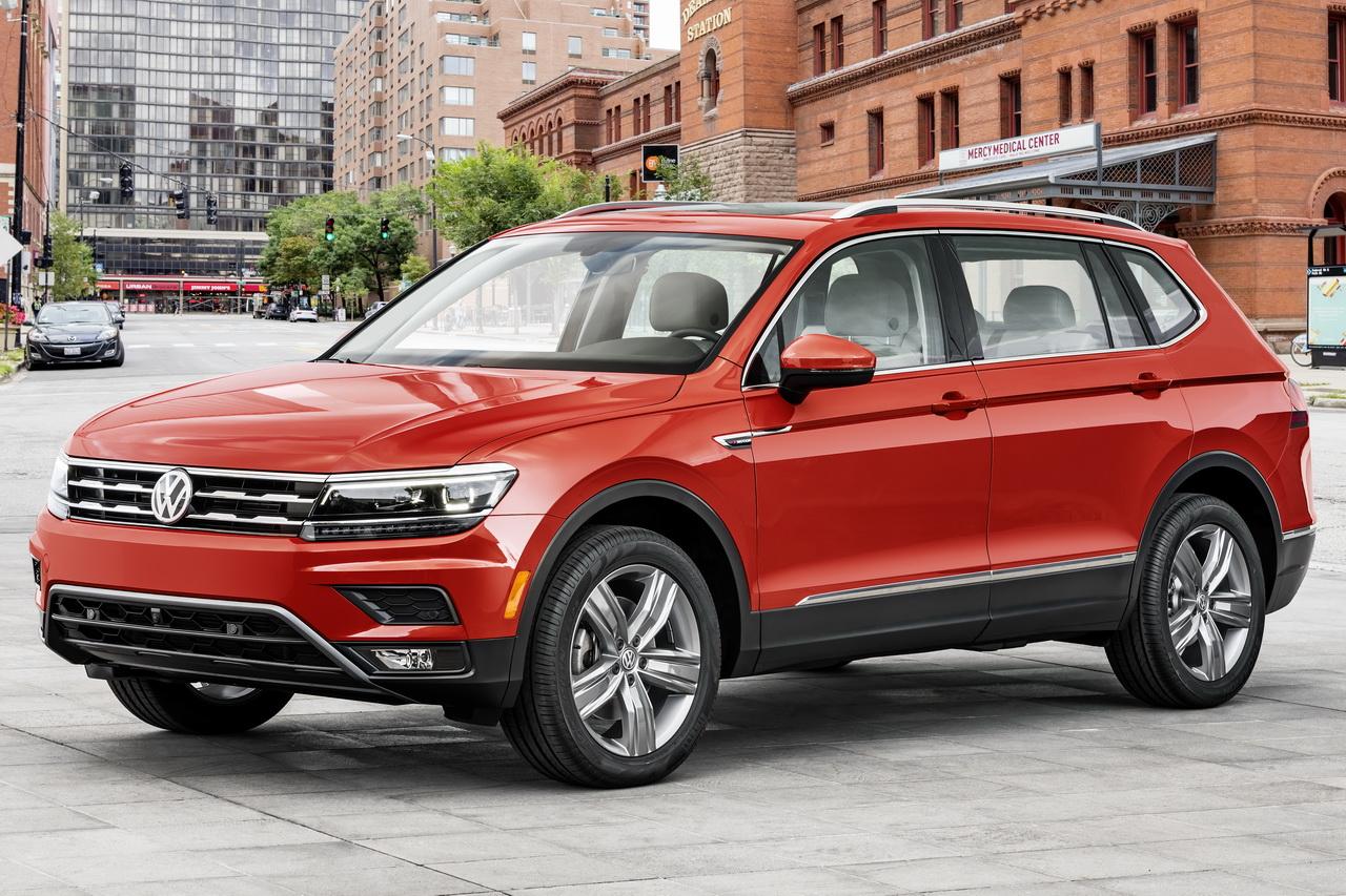 Volkswagen Tiguan Allspace 2017 : le Tiguan 7 places dévoilé à Detroit