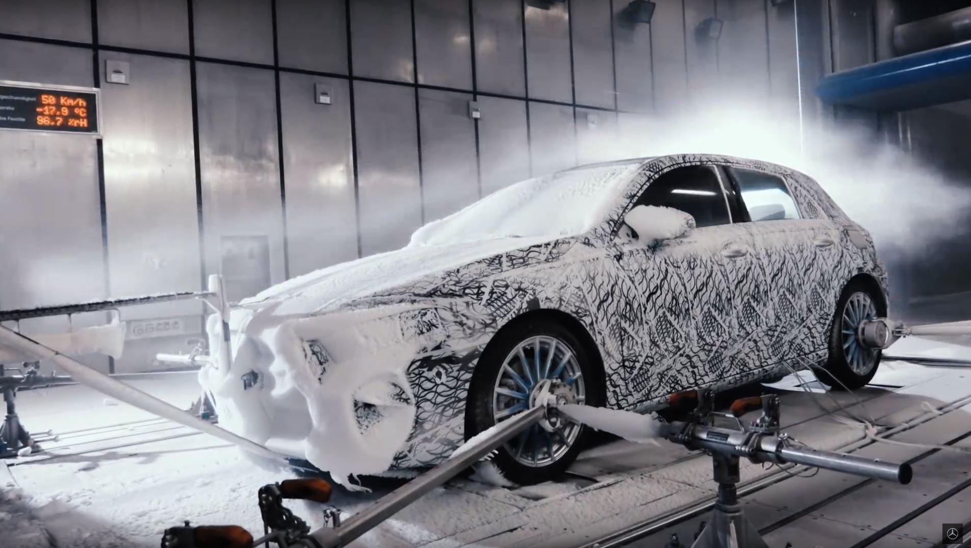 Mercedes Classe A (2018) : derniers tests avant sa présentation